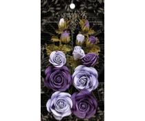 Fleurs Lilas Purple Royalty Graphic 45
